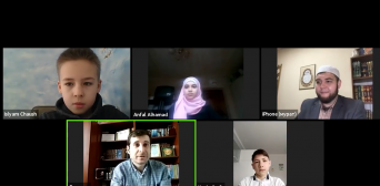 Самые младшие ученики Всеукраинской ассоциации по изучению Корана во время Рамадана достигли значительных успехов