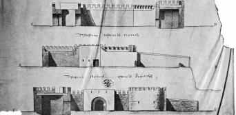 В распоряжении археологов были архивные документы — планы Хаджибейского замка