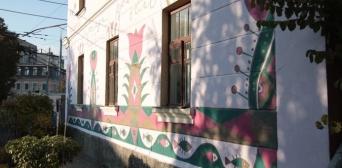 Стіни Вінницької бібліотеки розписані кримськотатарськими візерунками і фресками