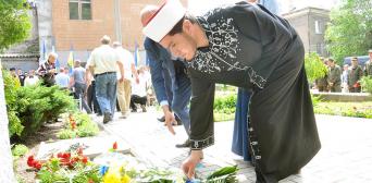 Запорожские мусульмане приняли участие в чествовании памяти жертв политических репрессий