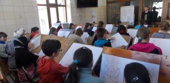 «Візерунки від Рустема Скібіна» — майстер-клас для юних художників