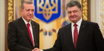 Порошенко с Эрдоганом акцентируют внимание на недопустимости ущемления прав крымских татар