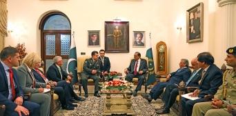 Міністр оборони України провів зустріч з Президентом Ісламської Республіки Пакистан