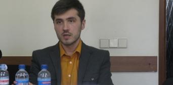 Президент «Молодіжної асоціації релігієзнавців» Руслан Халіков