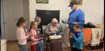 Grocery Packs for the Poor Large Families: Zaporizhzhya Muslims Expand Their Quarantine Benefit
