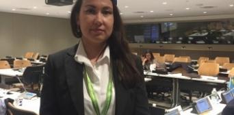Гаяна Юксель в ООН: «Крымские татары — коренной народ, который живет на своей исторической Родине»