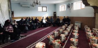 Зимова допомога нужденним Запоріжжя від мусульман Німеччини