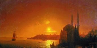 Константинополь в 1846 году. Худ.Айвазовский