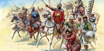 Мамлюки в битві з монголами