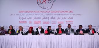 Международное движение призывает освободить женщин из тюрем Сирии