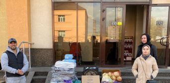 Kyiv Muslims do not forget about old people under the care of Skybyn hospice