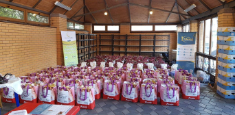 300 Grocery Packs from German Muslims, and Another 200 from Ukrainian Good-Doers: Getting Ready for Ramadan!