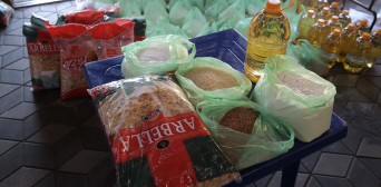 Активисты Исламского культурного центра г. Киев собрали и развезли малоимущим продуктовые наборы