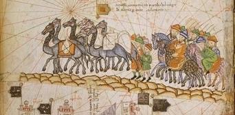 Средневековый караванный путь