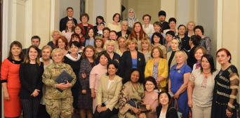 Ukrainian deputy pledges support for all-women convoy