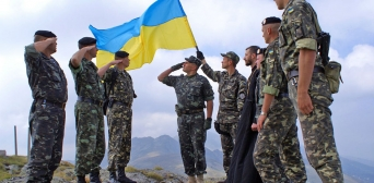 Вітання з нагоди Дня захисника України