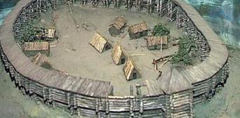 Вариант реконструкции салтовской крепости
