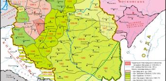 Велике князівство литовське в кінці 14 століття