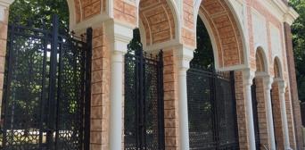 Ворота в мавританському стилі