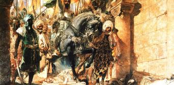 Вступление османов в Константинополь