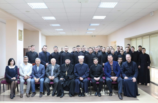 Mufti held a lecture on Islam to the Greek-Catholic Theologians