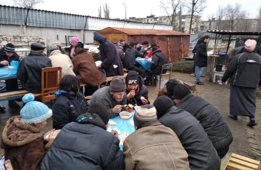 """""""FEED THE HUNGRY"""" IN SEVERODONETSK: BENEFIT GAINS MOMENTUM DESPITE THE HARDSHIPS AND THE SCEPTICS"""