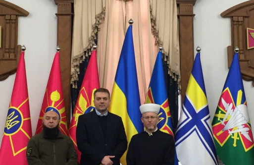MINISTER OF DEFENCE MEETS MUFTI AND CHIEF MUSLIM MILITARY CHAPLAIN